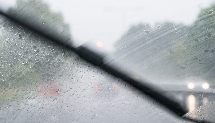 Rain can cause car accidents